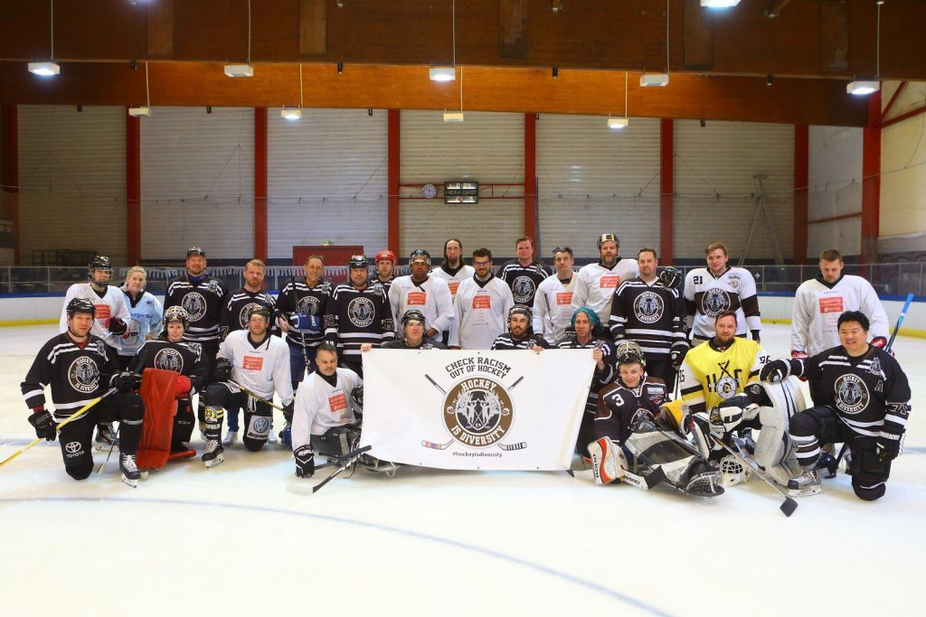 Hockey is Diversity Charity Hockey Wesel Punkrock