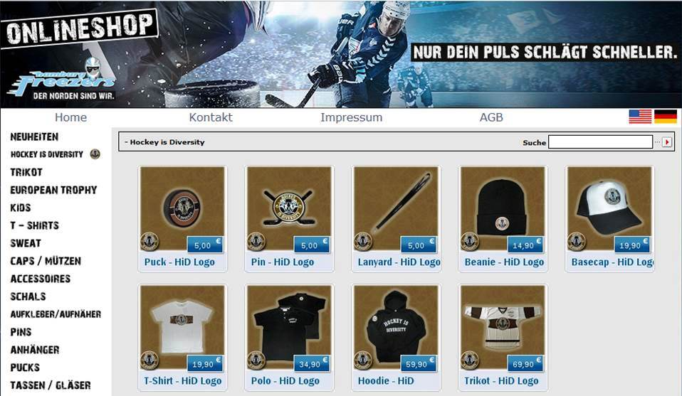Hamburg Freezers Shop