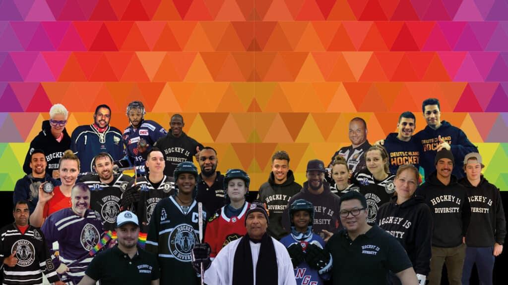 Hockey is Diversity BLM Team