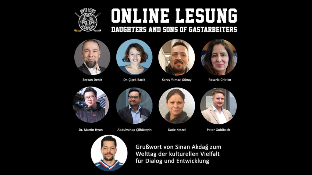 Daughter and Sons of Gastarbeiters Lesung