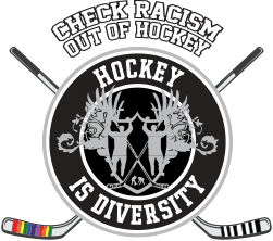 Hockey is Diversity Logo