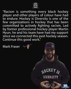 Mark Fraser Interview racism