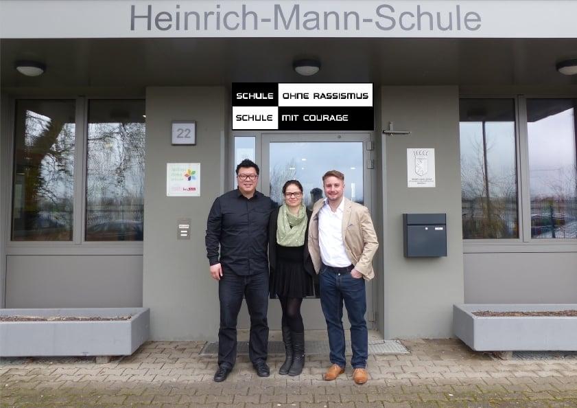 Heinrich-Mann-Schule - Mentoring Projekt - Martin Hyun, Katie Ketzel, Peter Goldbach