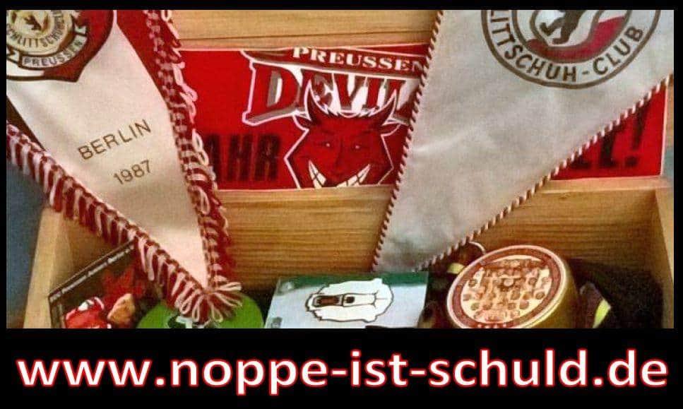 Noppe ist Schuld Logo