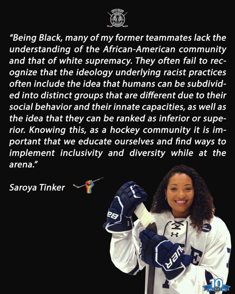 Saroya Tinker Statement