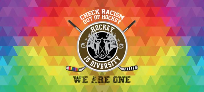Hockey is Diversity Banner