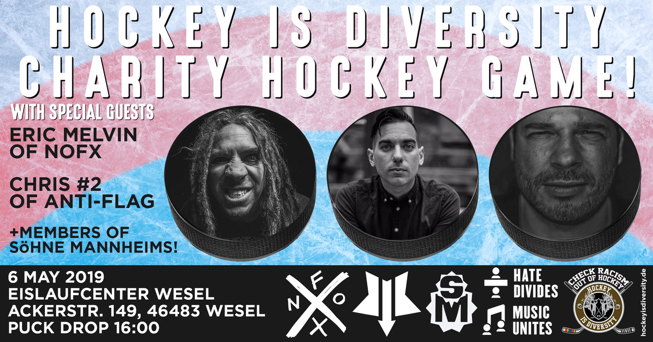 Hockey is Diversity meets Punkrock
